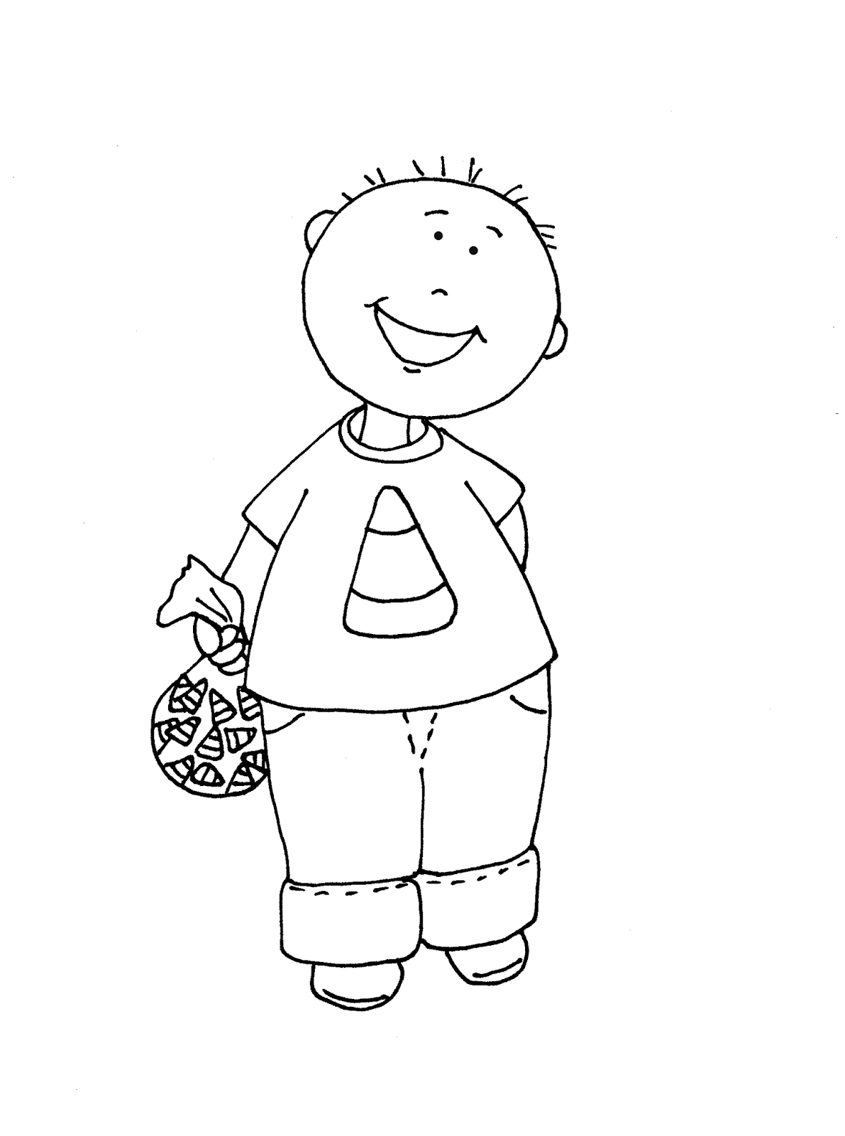 candy corn coloring pages - photo#50