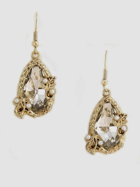 Just J: Estelle drop earrings from Olive+Piper