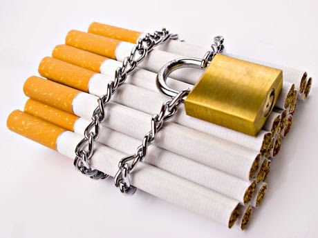 Como a disaccustom a fumagem de cigarros