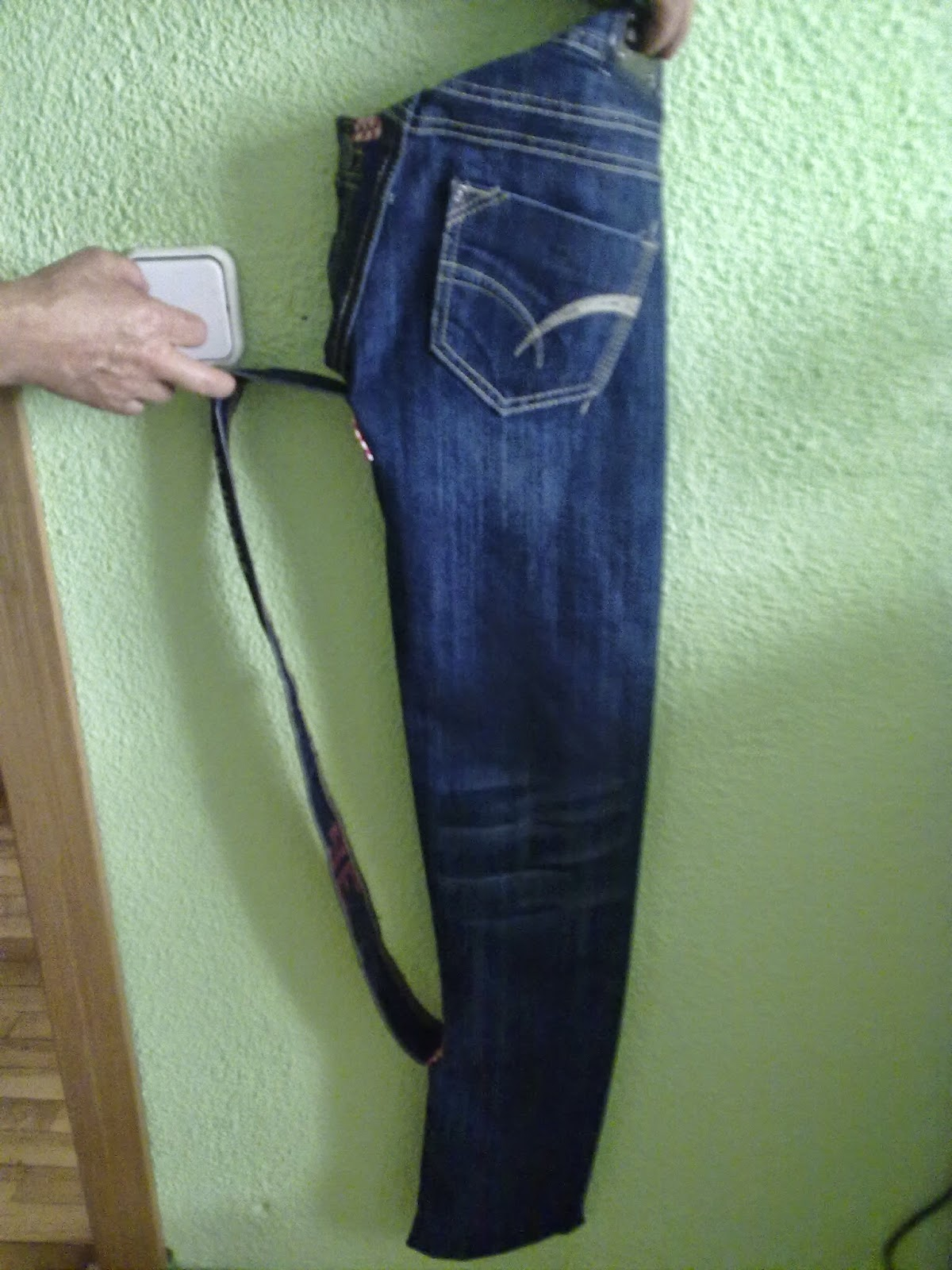 El reciclaje de aurora reciclando pantalones vaqueros 2 - Fundas para sombrillas ...