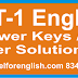 TET-1 English Paper Answers keys Solution exam held on 23-08-2015