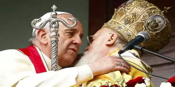 Πάπας και Βαρθολομαίος ανακοίνωσαν σήμερα: «Εκεί θα προσεύχεστε»