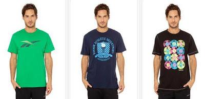Camisetas para hombre de Reebok muy baratas