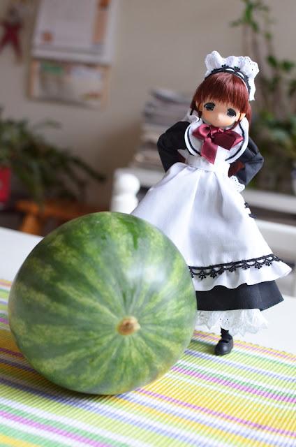 maid mamachapp and melon