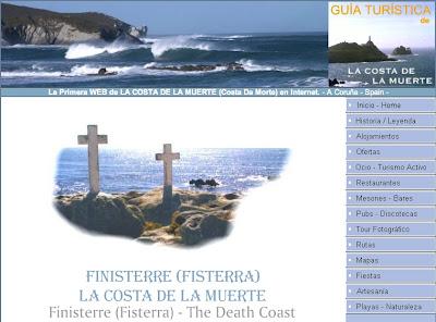 costa da morte, costa de la muerte, alojamientos, casas, pisos, chalets, bungalows, galicia.