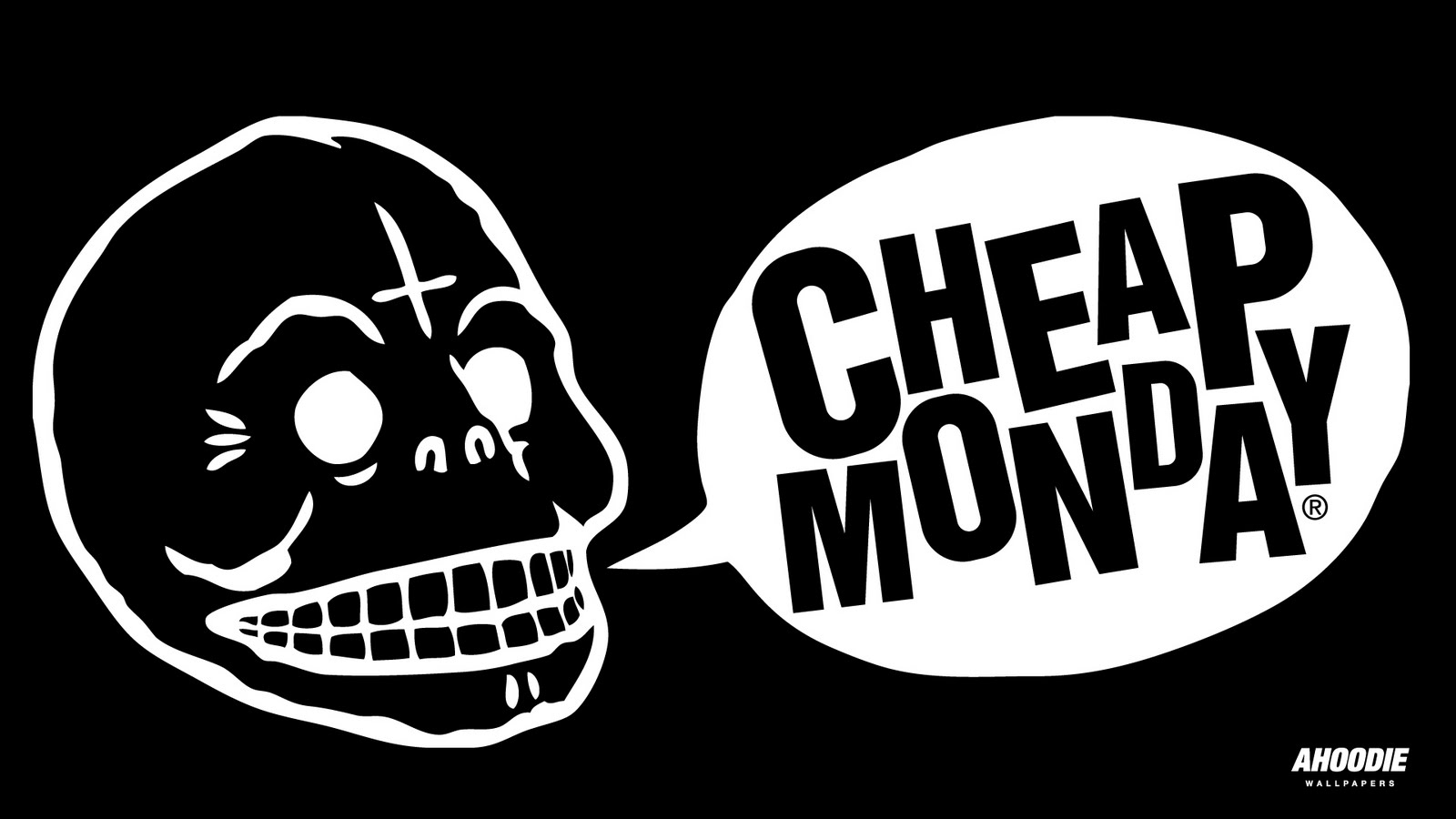 Cheap Monday With that characteristic skull logo and a high-end attitude, Cheap Monday is renowned for producing premium denim, dungarees and signature dresses at an affordable price. It's the go-to for Swedish minimalism dashed with eccentricity.