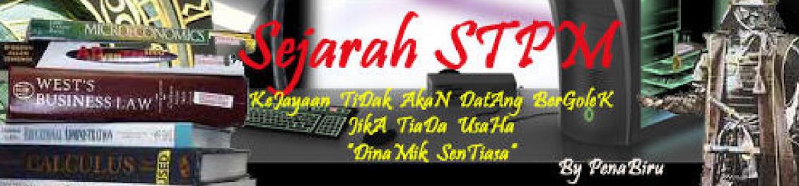 SEJARAH STPM