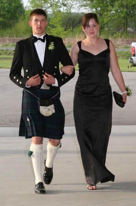 Шотландцы Носят Юбки