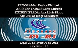 Entrevista Rádio Eldorado