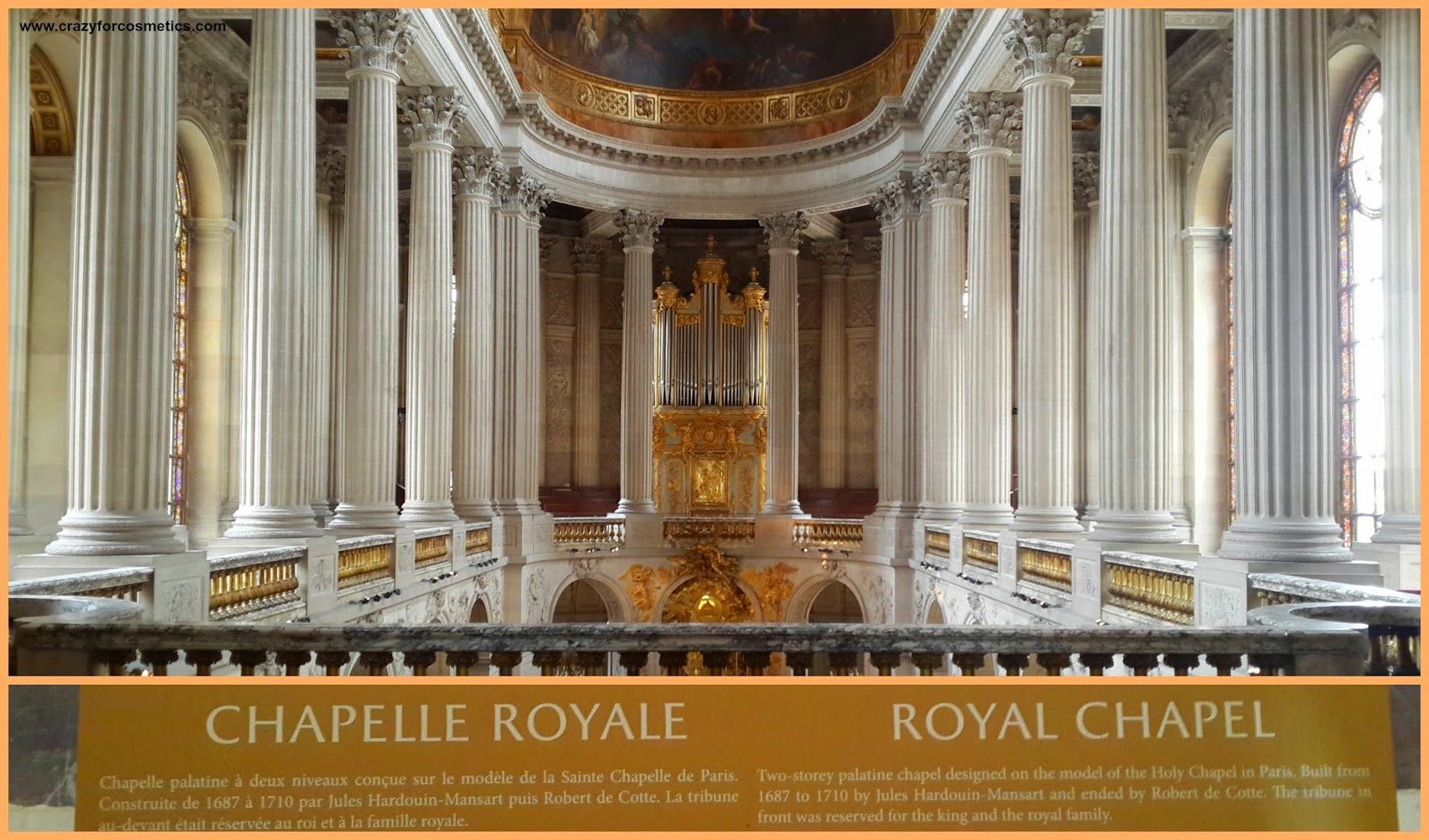 palace of versailles royal chapel