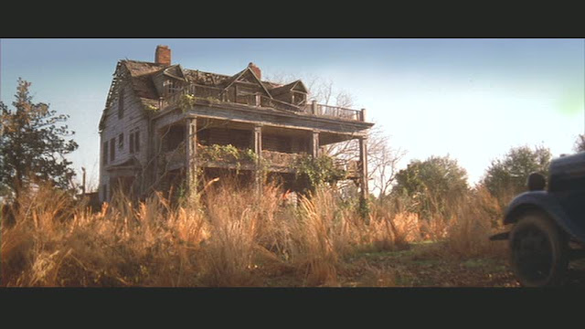 Abandoned house from the movie