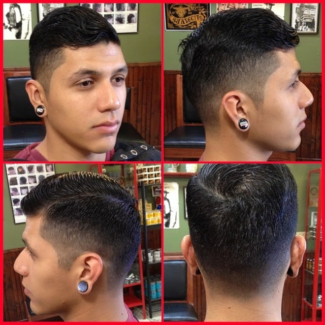 Modern pompadour cut men how to