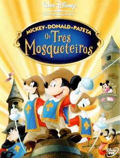 Mickey, Donald e Pateta – Os Três Mosqueteir