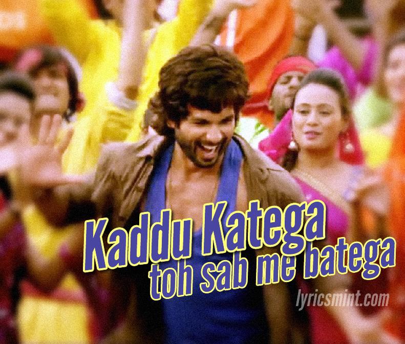 Kaddu Katega from R Rajkumar