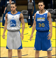 NBA 2K13 Golden State Warriors Practice Jersey Patch