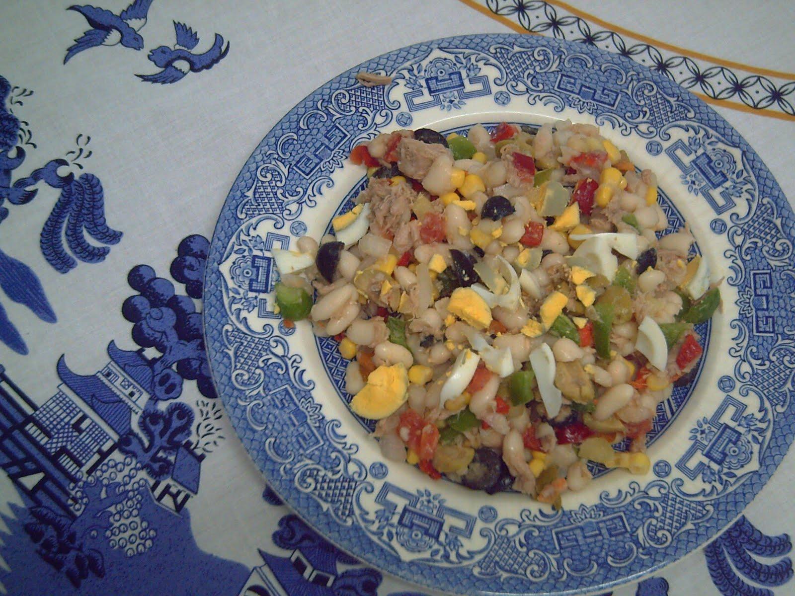 De patito a cisne ensalada de alubias - Calorias alubias cocidas ...