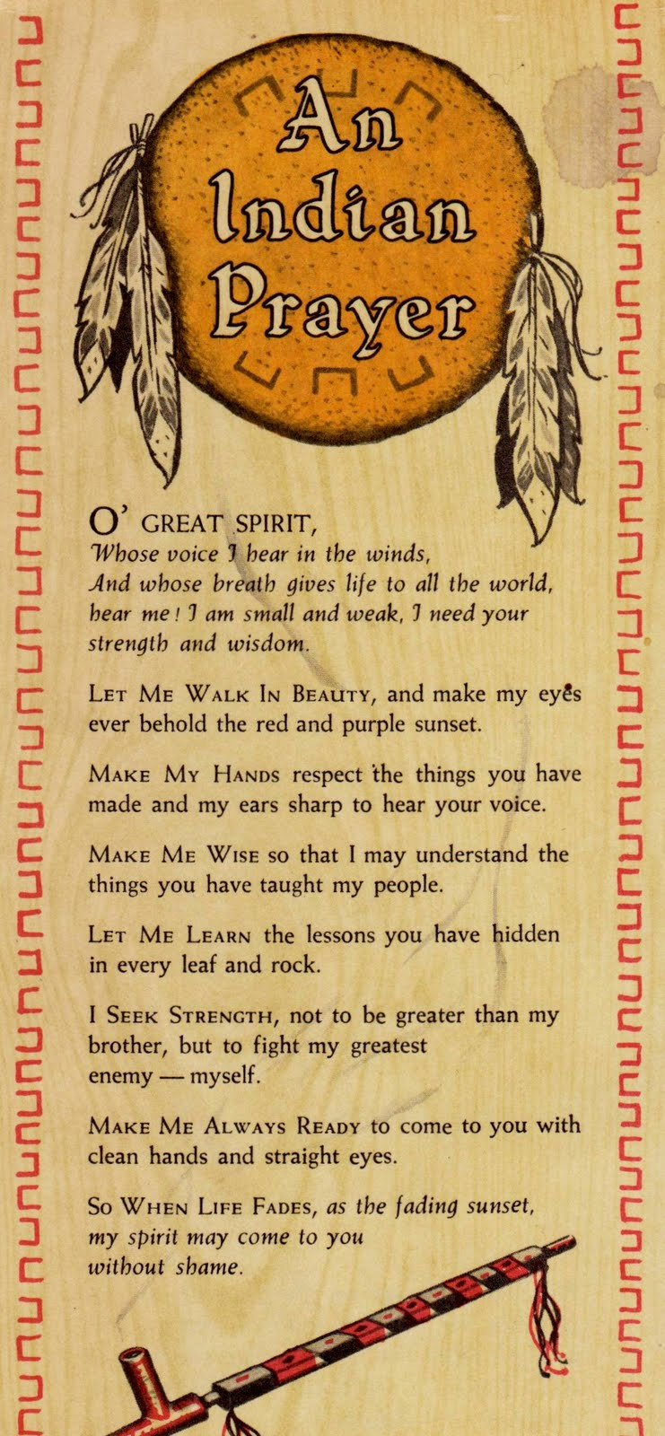Native Indian Prayer http://www.gardening4us.com/2011/07/native-prayer-timely-reminder-as-earth.html