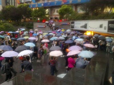 Китай, Шанхай, Площадь Людей