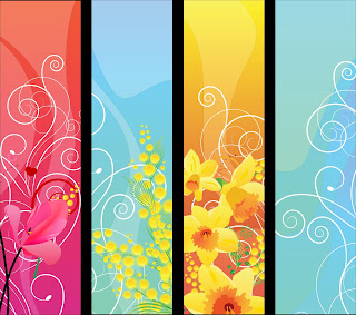 Contoh Design Banner Flower Portrait (Cdr File)