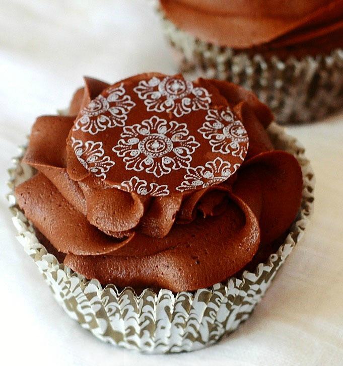 Lemon Drop: Chocolate Brownie Cupcakes