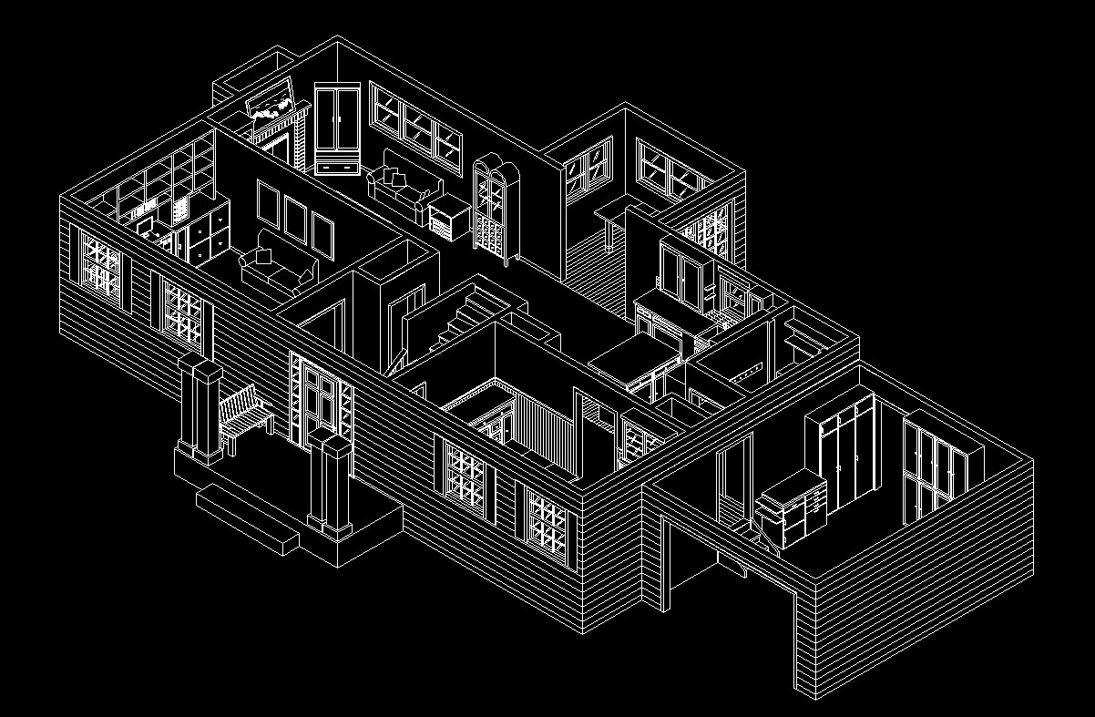 Technology  Bremen, Indiana: Isometric Floor Plans by Ben Hueni