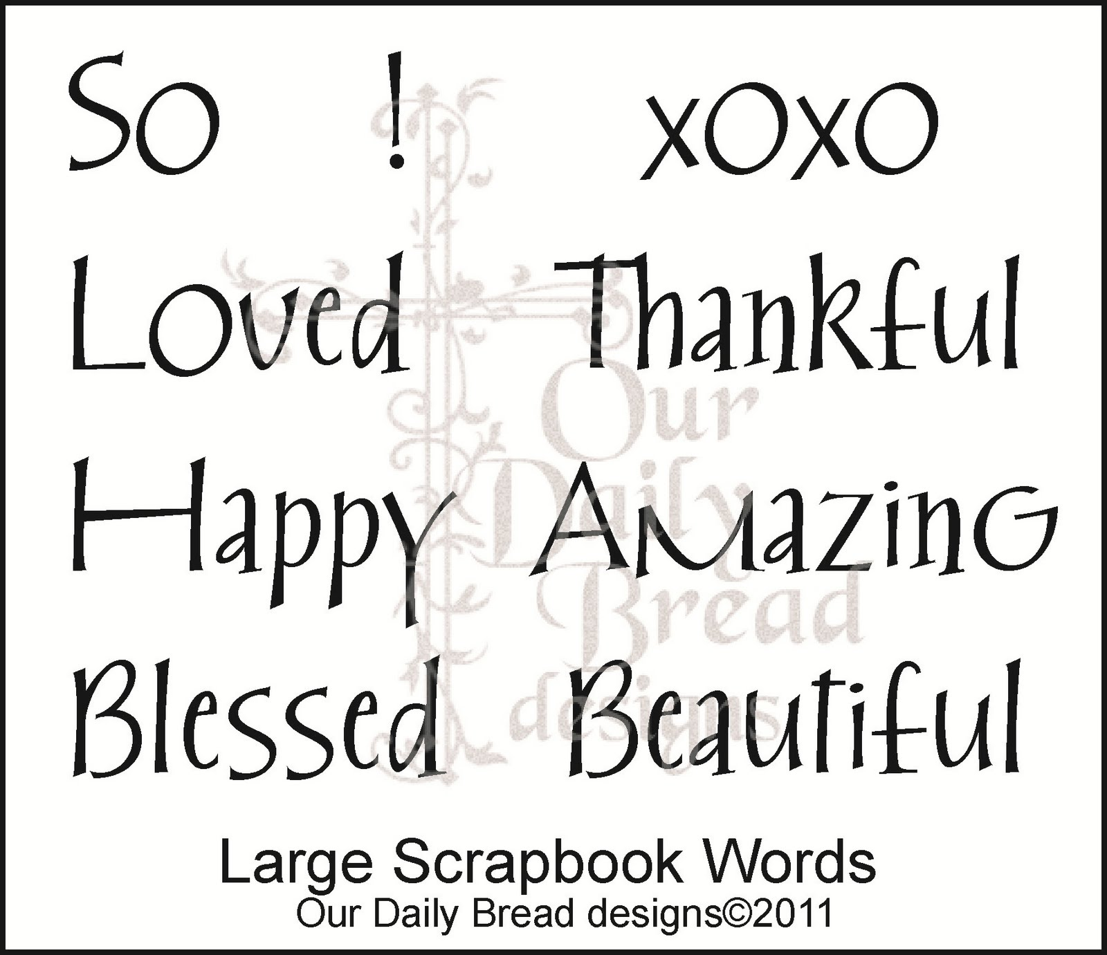 How to scrapbook words - Our Final Set Today Has Been Long Awaited By Some Of Our Faithful Customers Just As No Garden Is Complete Without Some No Stamp Line Is Complete
