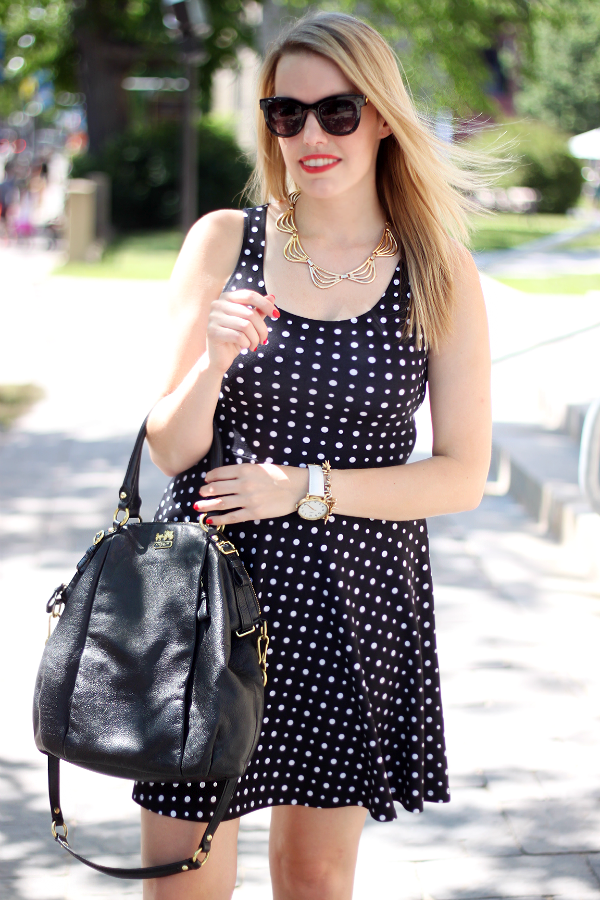Smart Set Polka Dot Dress