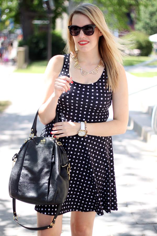 Smart Set Polka Dot Dress