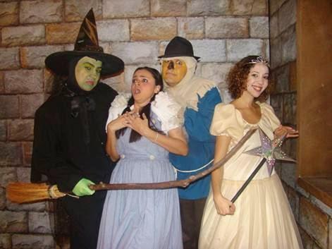 Clássico no Bangu Shopping ' O Mágico de Oz'