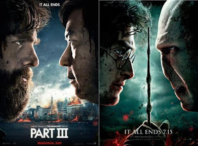 The Hangover Part 3 Poster Similar To Harry Potter