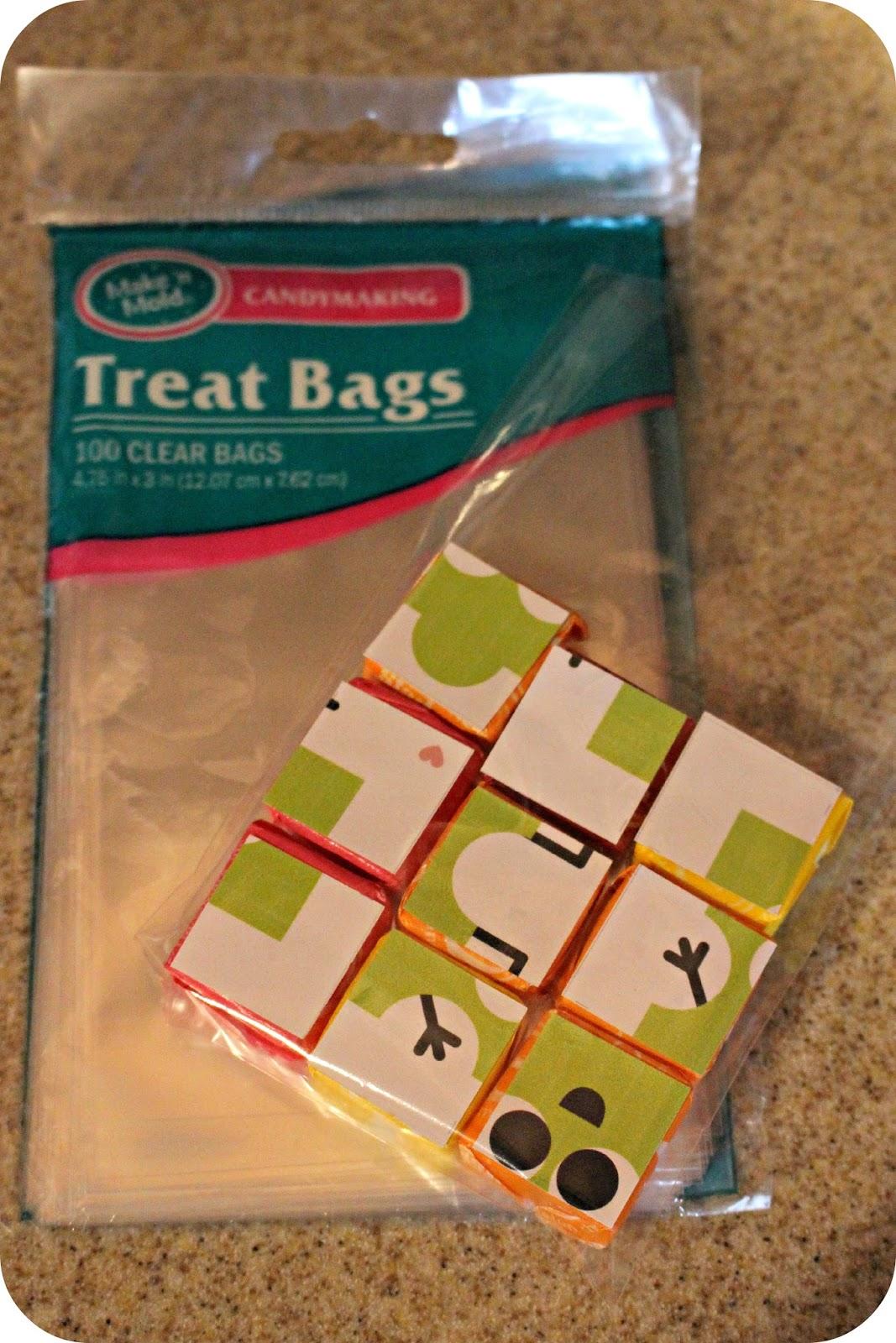 our tinies tiny treat bag ideas