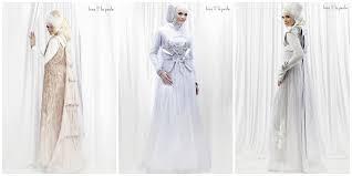 baju pengantin muslimah yang menutup aurat