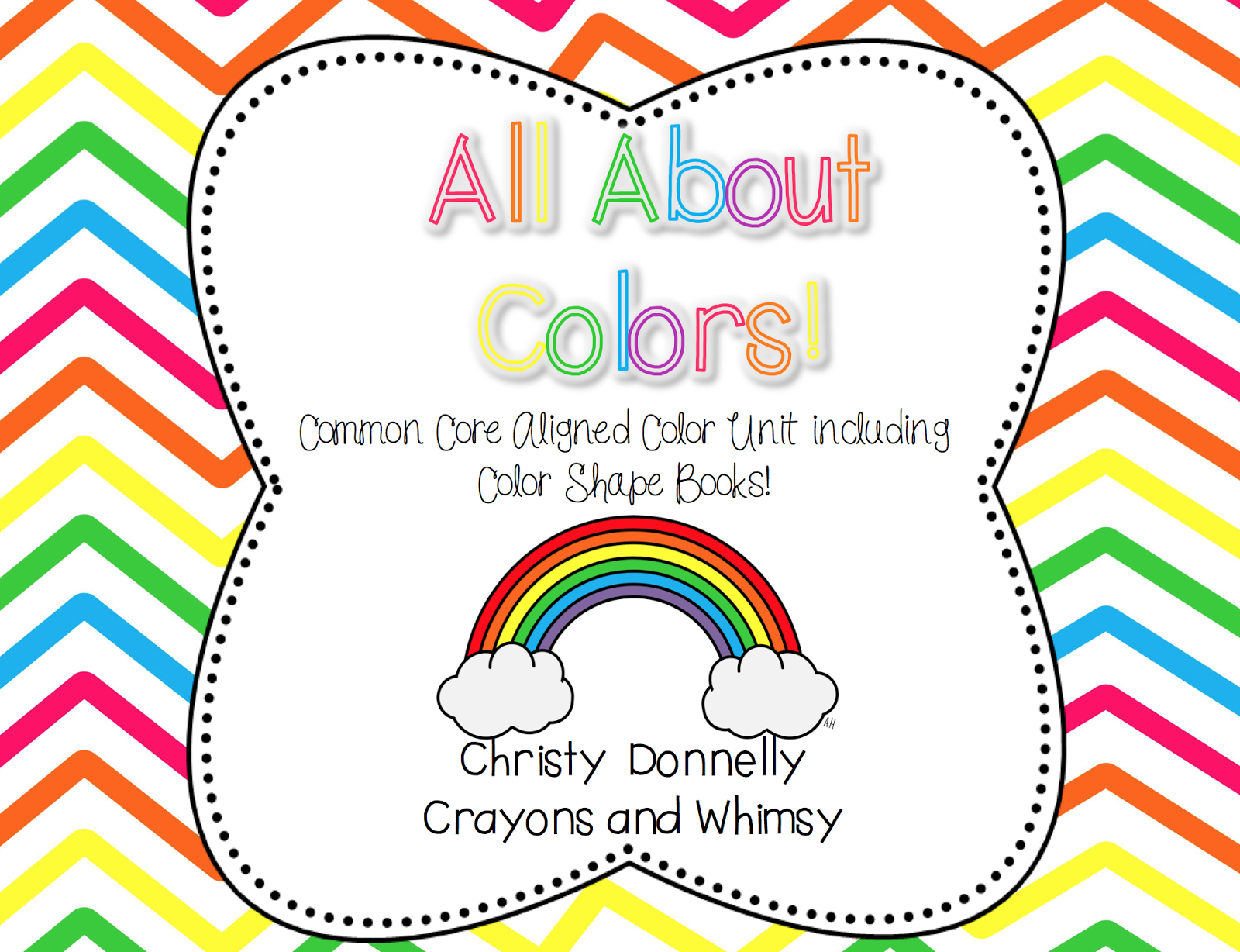 All About Colors Crayons and Whimsy Unit