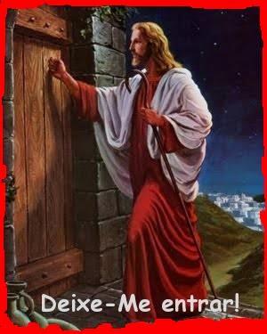 Professor gilberto a cantu jesus bate porta for Jesus a porta