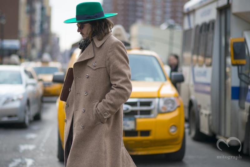 Louis Bompard at New York Fashion Week NYFW