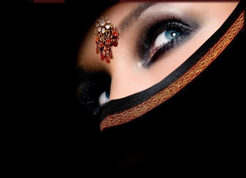 Femme de foyer arabe