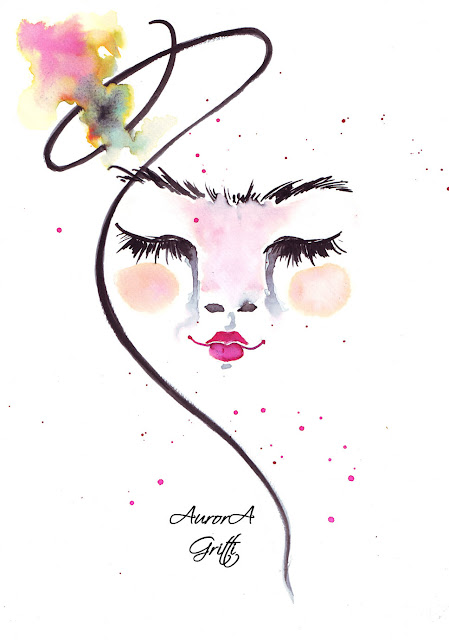 Aurora Gritti fashion illustration