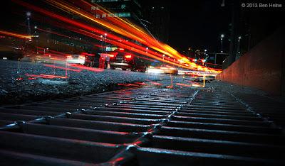 Seoul by Night Photo by Ben Heine