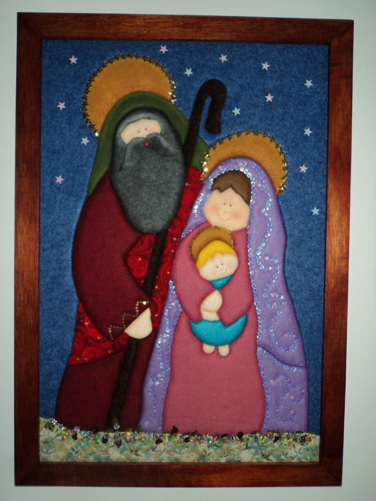 Manualidades maria e cuadros navidad for Cuadros de navidad