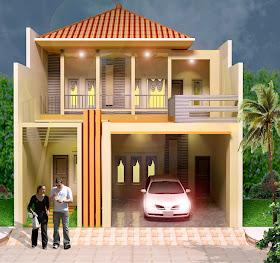 trend kombinasi warna cat rumah minimalis model rumah