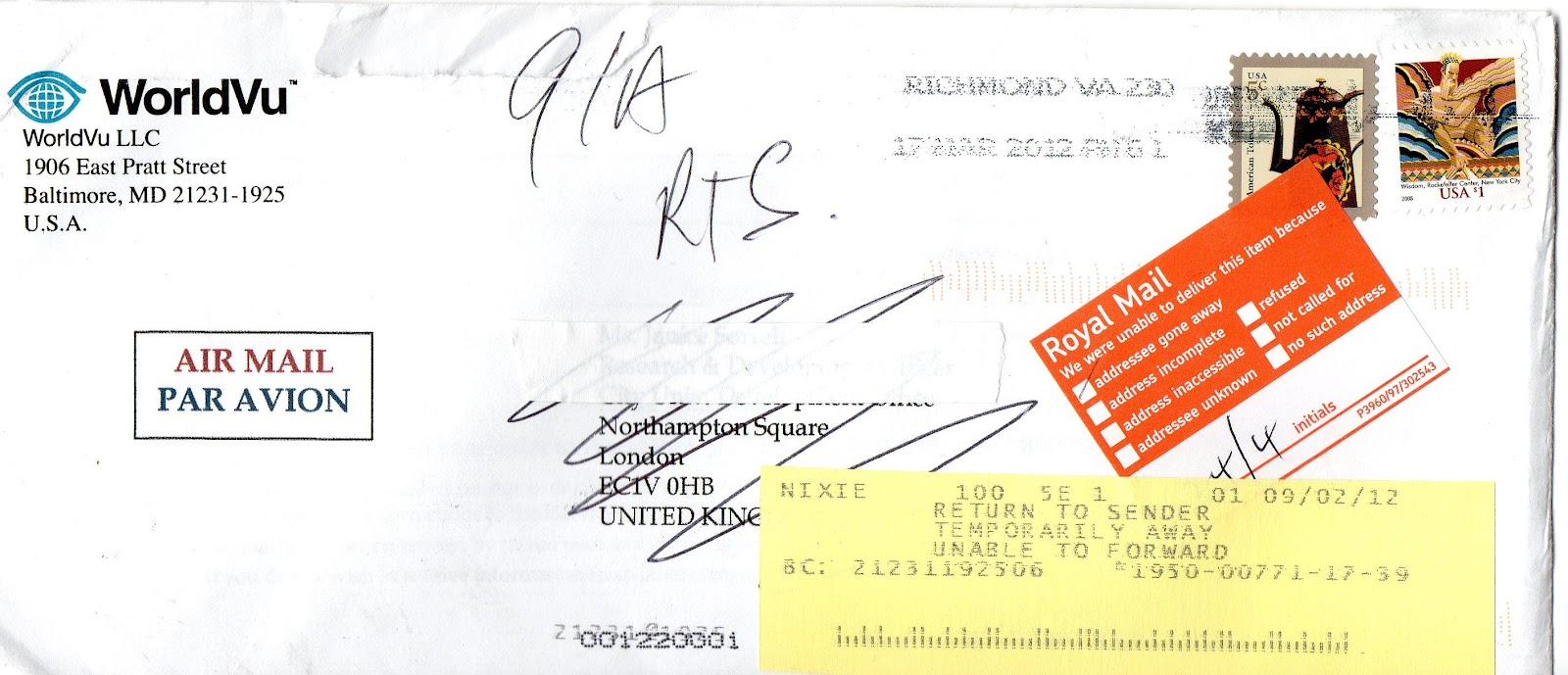 International addressing and mailing undelivered letter to international addressing and mailing ccuart Gallery