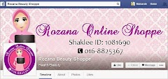 Tempahan Design Facebook Cover Photo: Rozana Beauty Shoppe