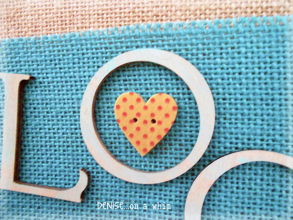 Wooden Button Heart Embellishment via http://deniseonawhim.blogspot.com