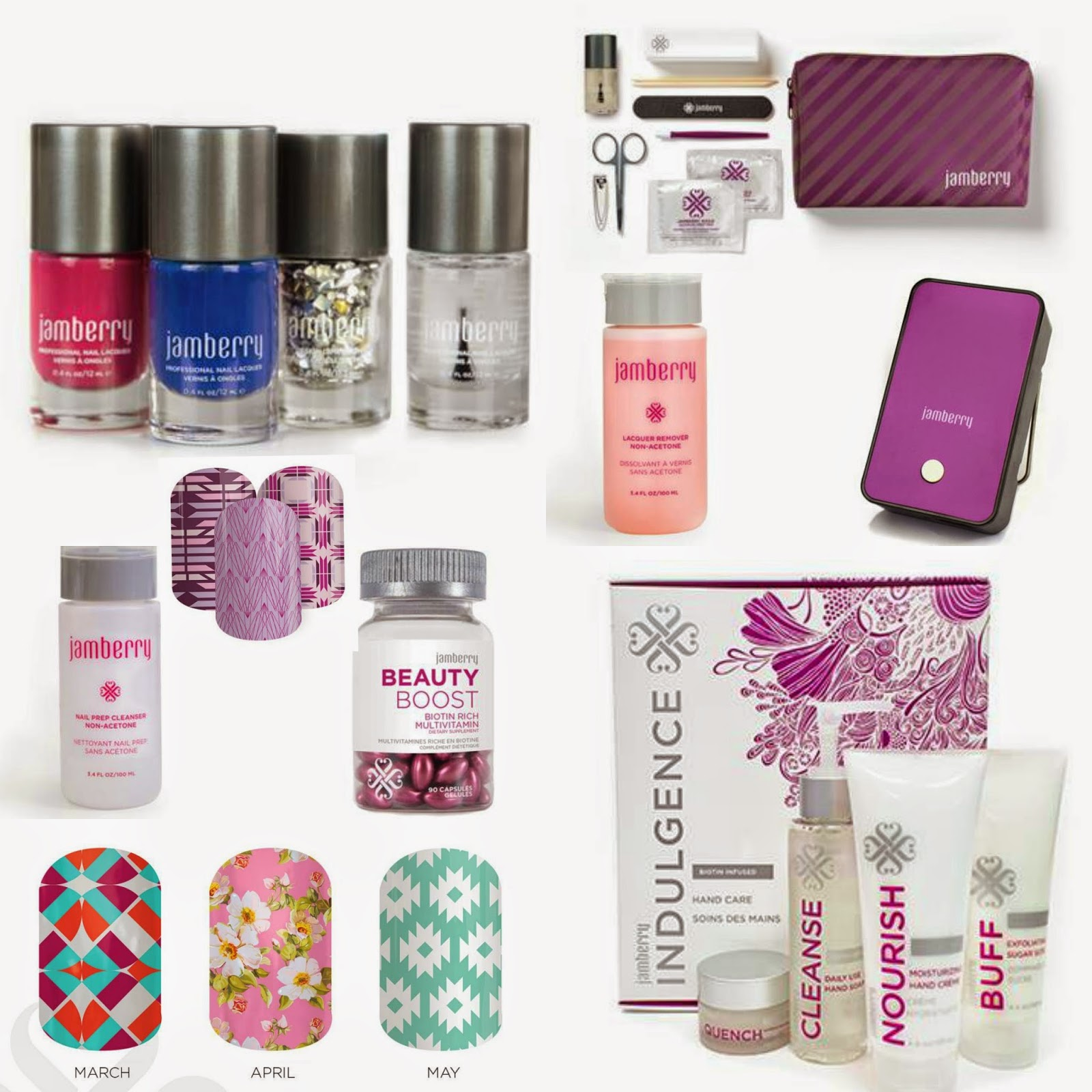 Check it out!  You can choose all of this for 78% off when you host with me!  That's right - $294 worth of Jamberry for just $65?  Jamberry LOVES hosts!