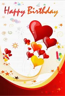 Tarjetas de Cumpleaños para Novios, parte 1