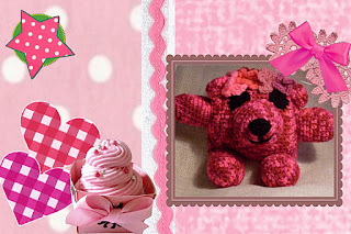 cherry crochet flowerumi bear pattern