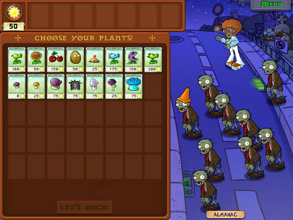Download Plant VS Zombie For PC Full Version