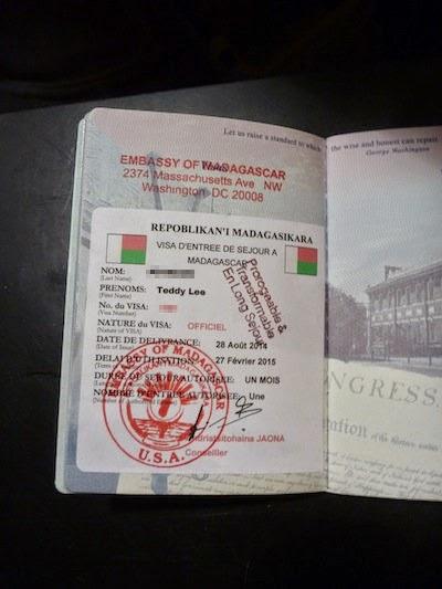 Madagascar Visa