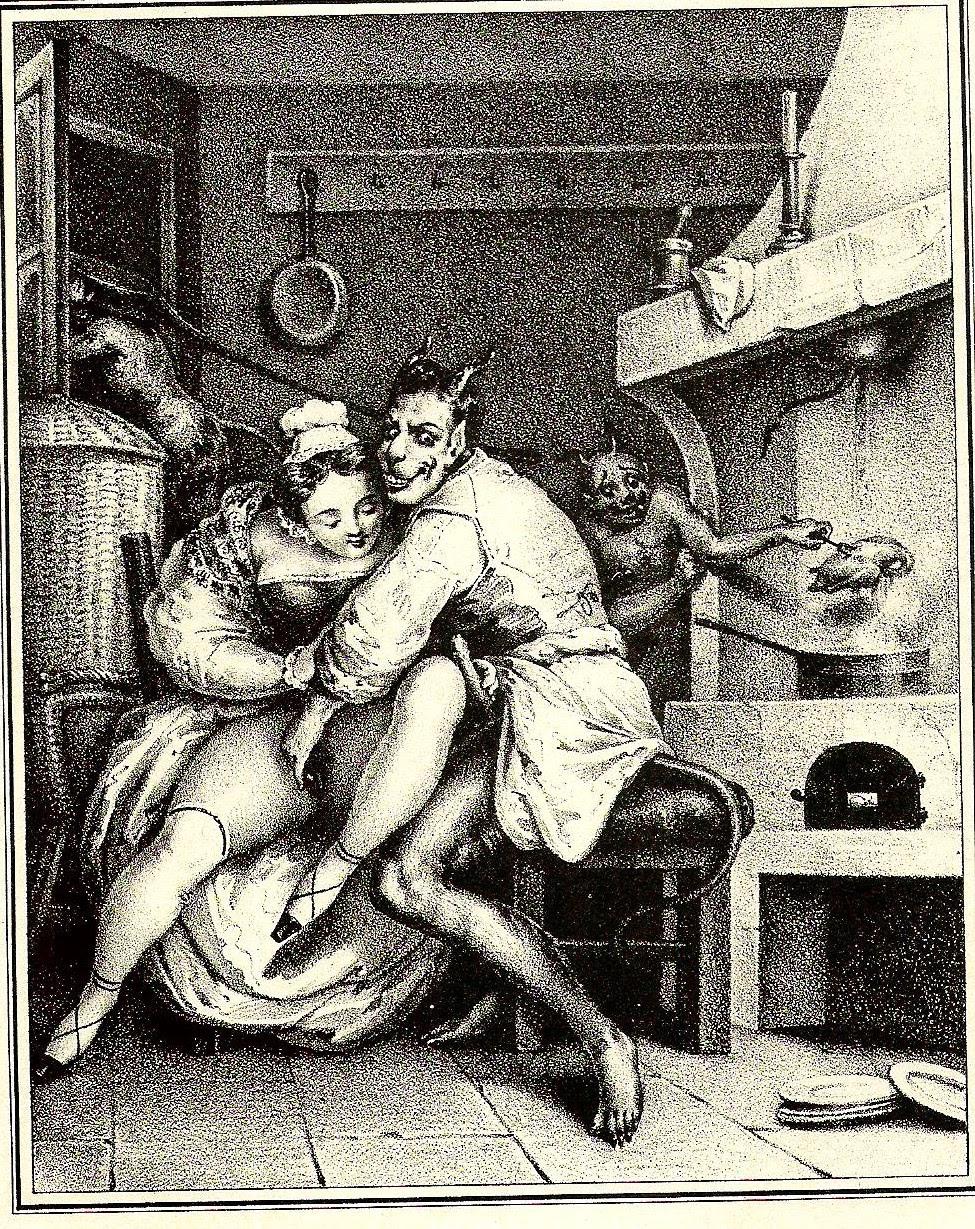 Старинная эротическая гравюра 8 фотография