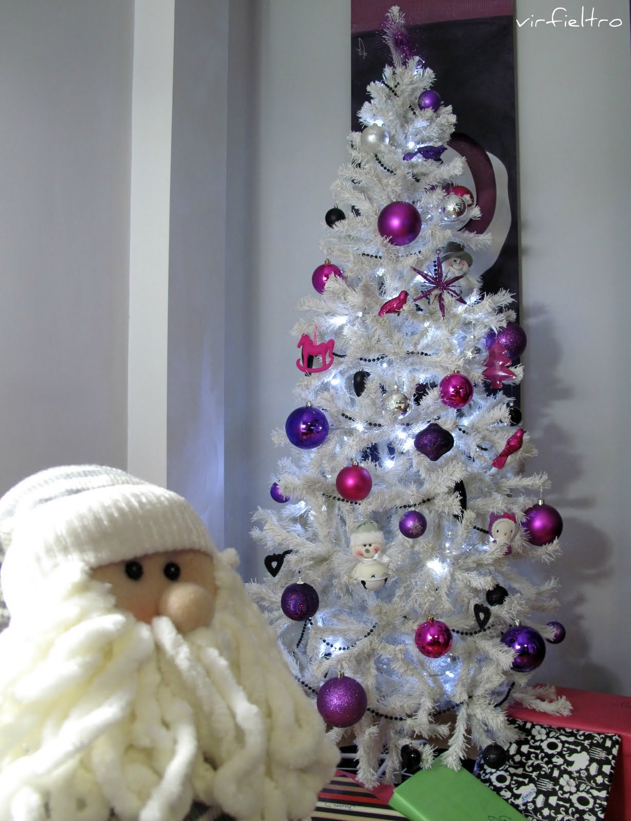 Ultimamente - Arbol de navidad blancos ...